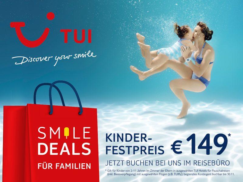 TUI Kinderfestpreis 149 Euro
