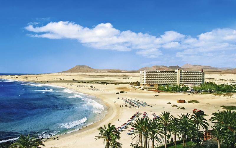 Spanien-Fuerteventura-Corralejo-RIU-Oliva-Beach