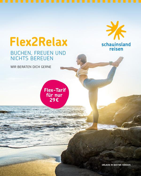 SLR Kampagne Flex2Relax
